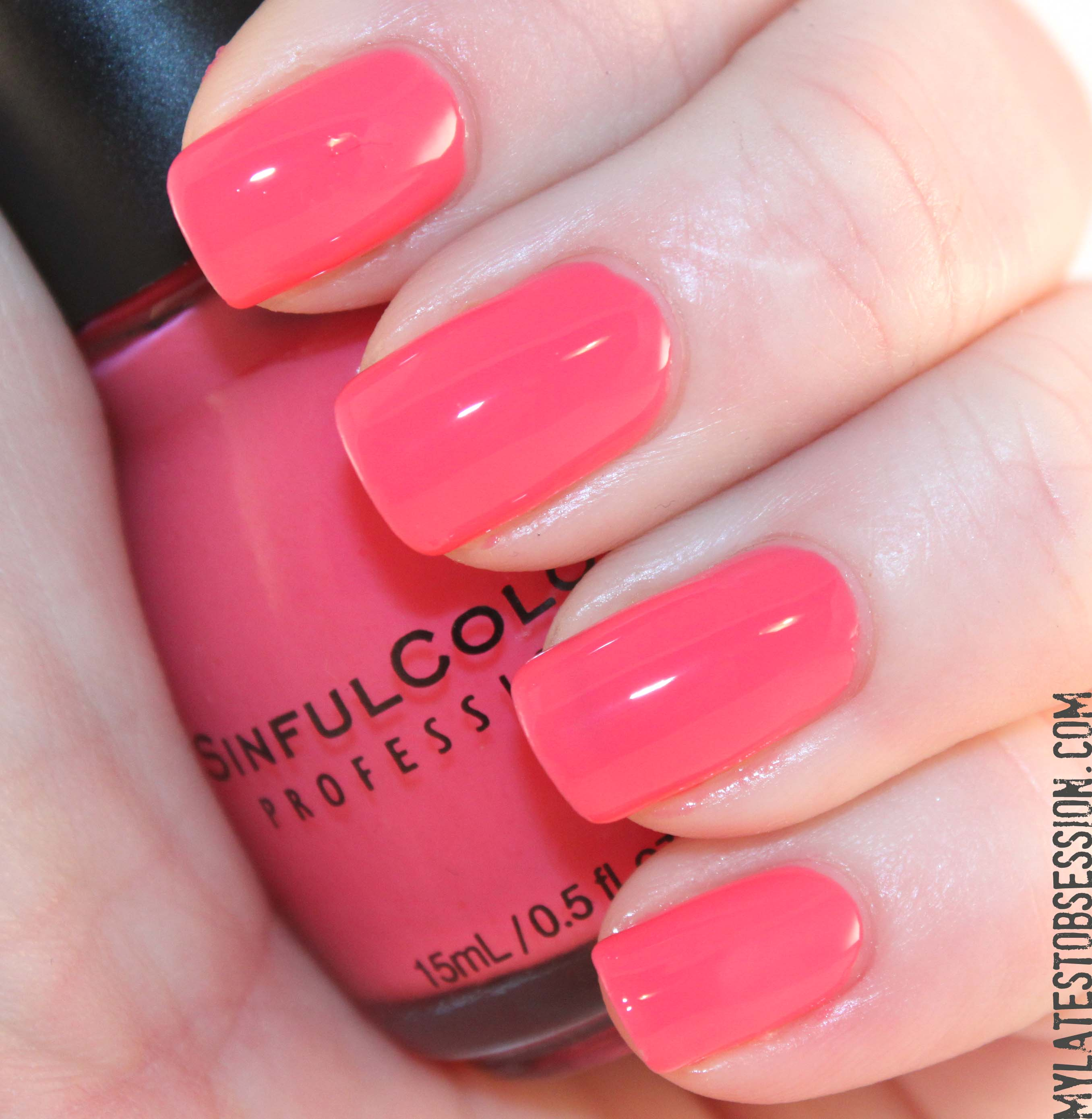 Nail Colors: Sinful Colors For Valentine's Day