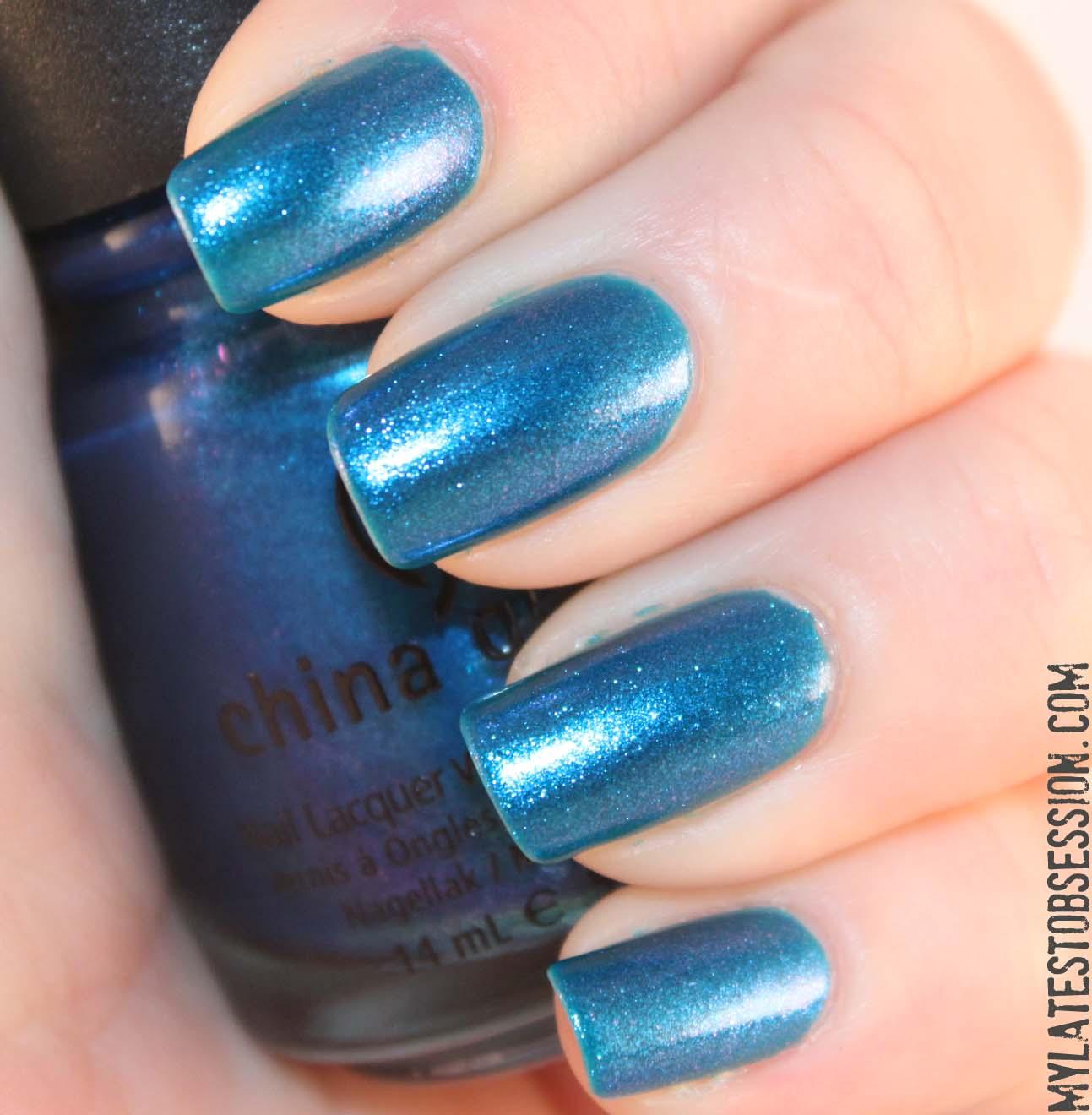 China Glaze - Blue Iguana