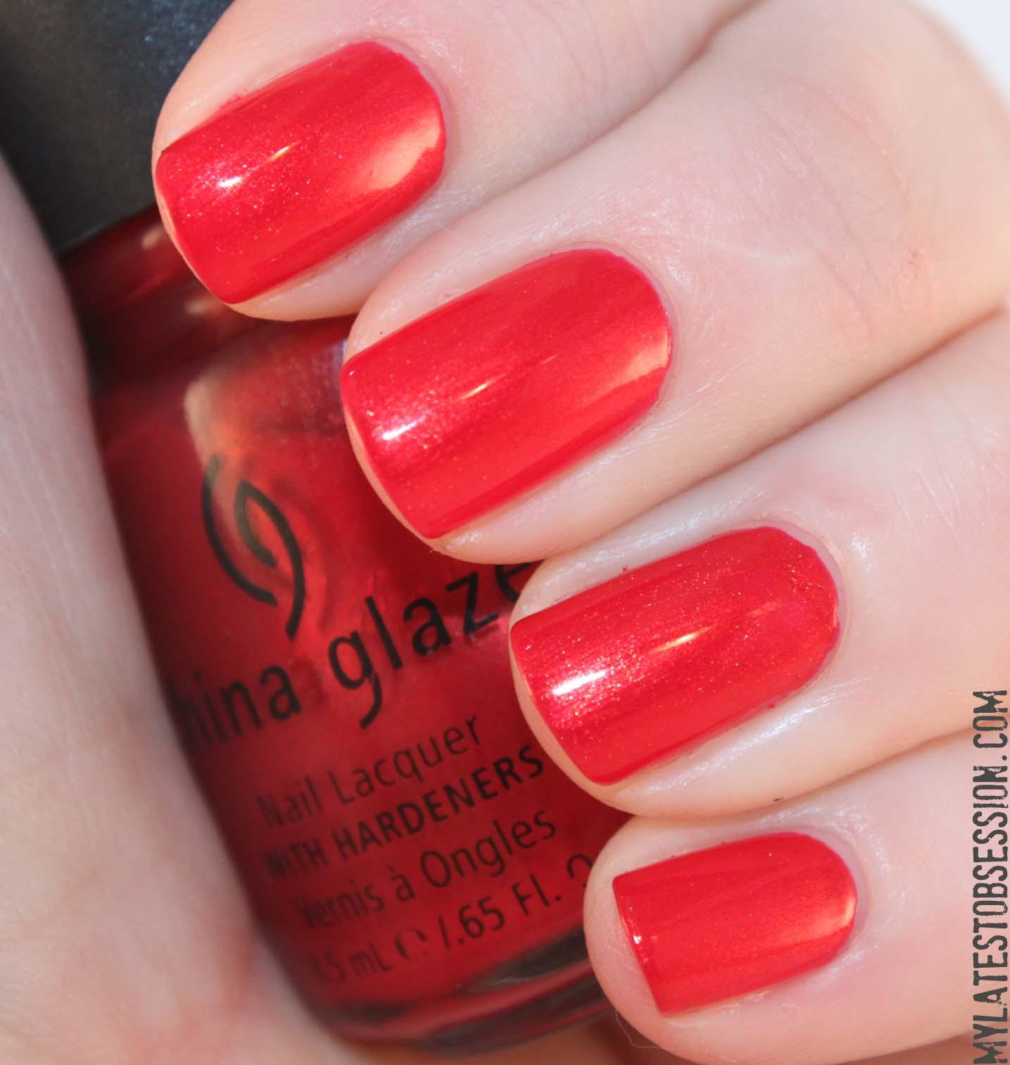 China Glaze - Go Crazy Red