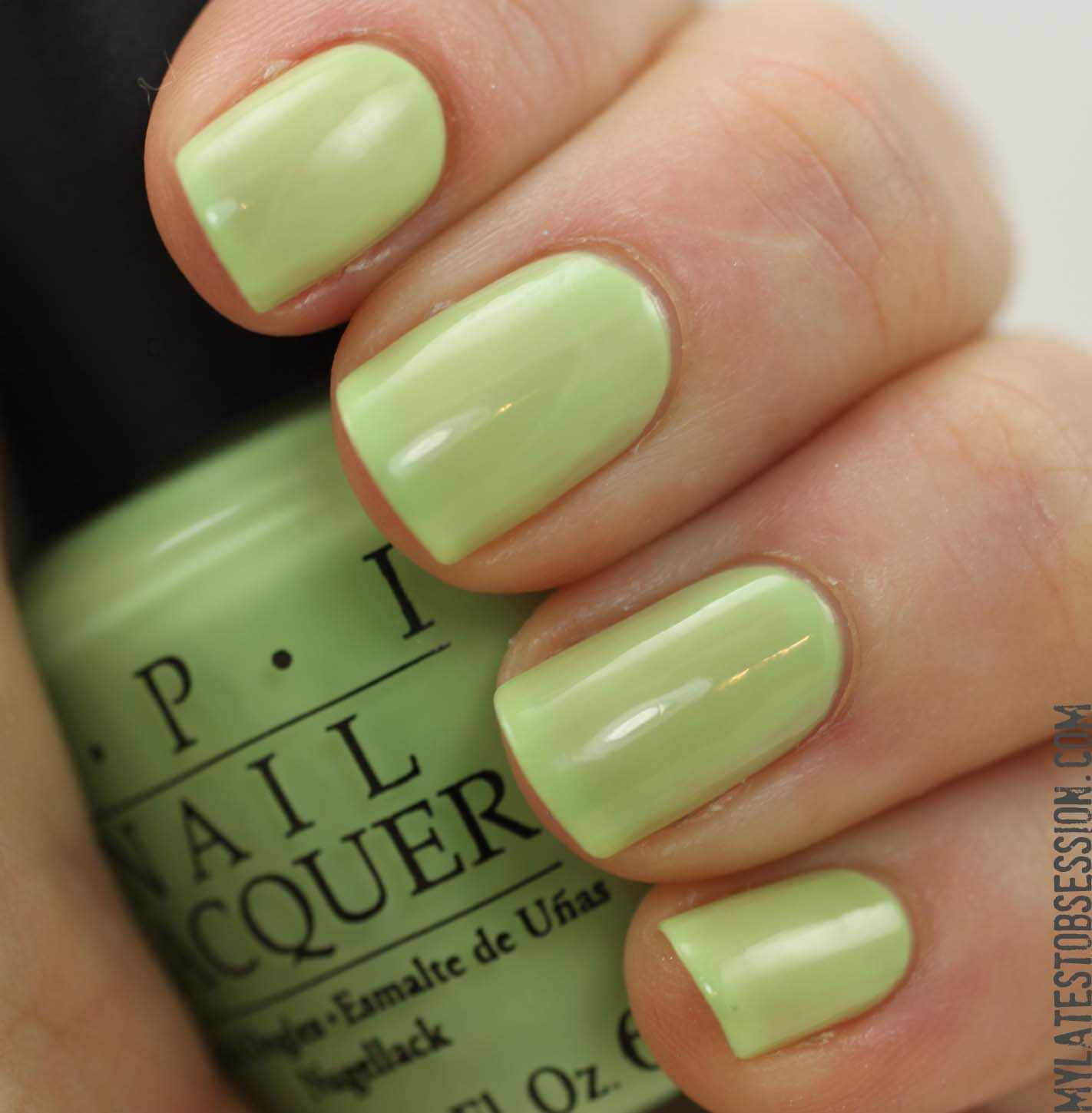 Gargantuan Green Grape Matte Swatch Opi Gargantuan Green Grape And